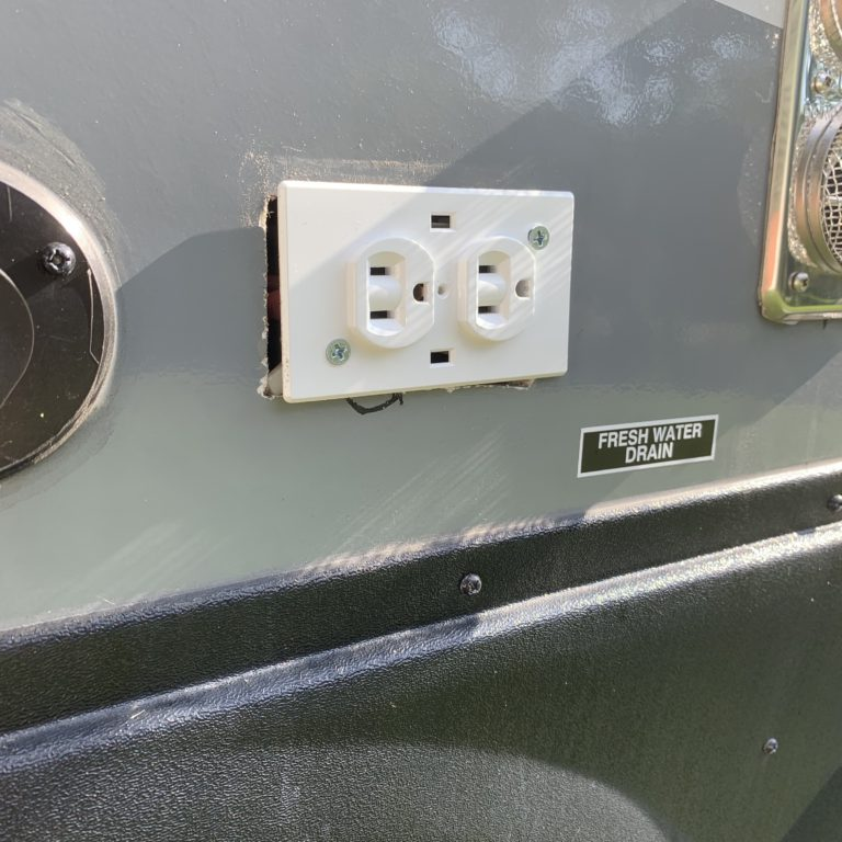 The Outdoor Outlet Isn't Sealed
